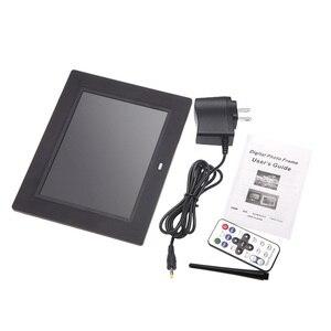 Image 5 - Andoer 8 ultracienki 1024*600 HD TFT LCD fotografia cyfrowa ramka budzik MP3 MP4 odtwarzacz filmów z pilotem pulpit