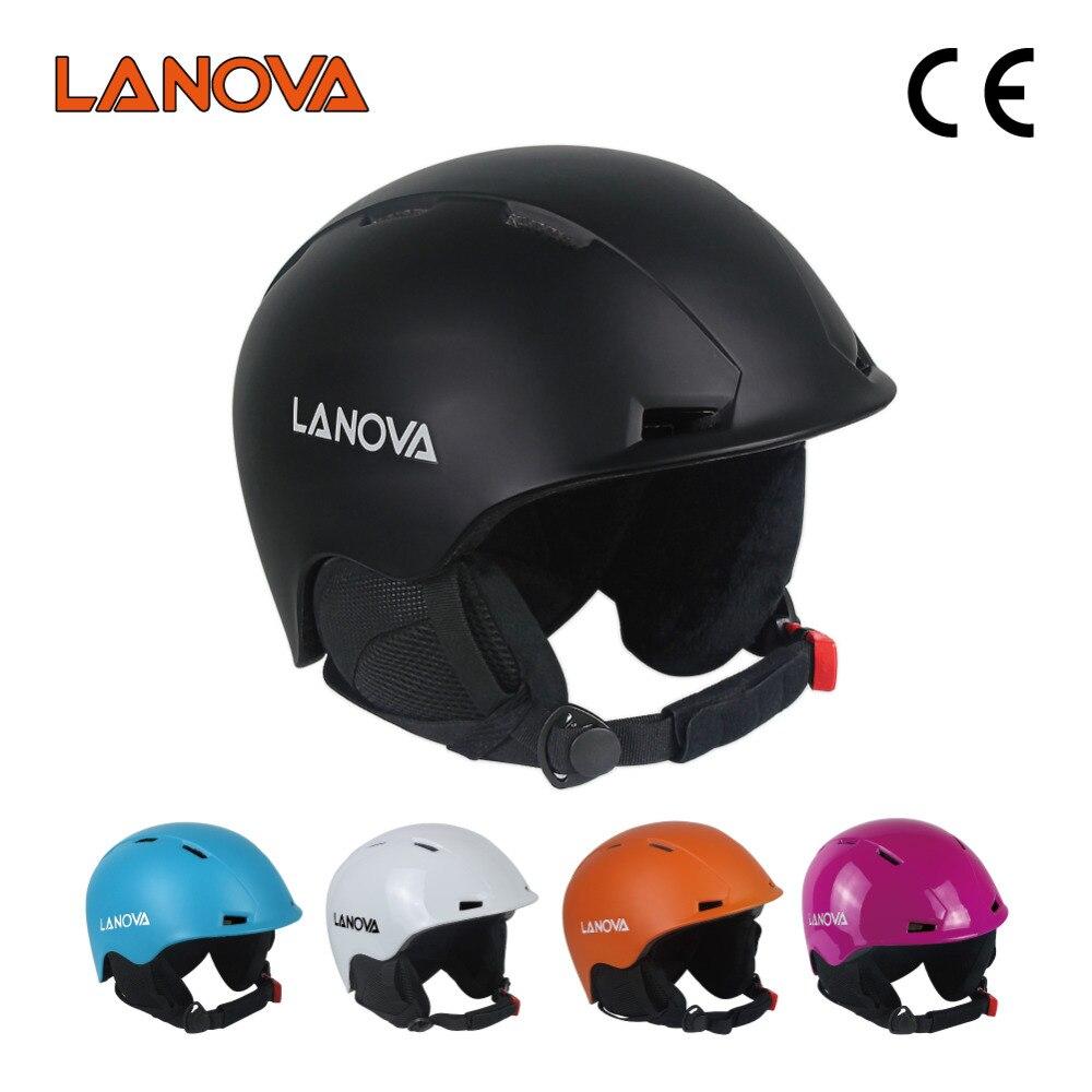 LANOVA marque casque de ski professionnel casque de ski adulte homme casque de patinage/planche à roulettes multicolore casques de sport de neige
