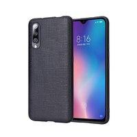 Fitted cases For Xiaomi mi 9 case mi 9 SE Transparent Phone Case Leather phone bag Case Men Women Business Fashion Waterproof