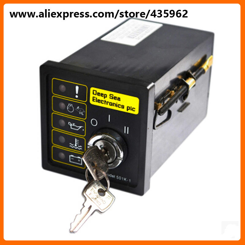 DSE501K-1 Generator Controller for Diesel Generator Set deep see controller high quality free shipping deep sea generator set controller module p5110 generator control panel replace dse5110