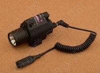 Weapon Lights Tactical M6 Laser Flashlight CREE LED Black M6436