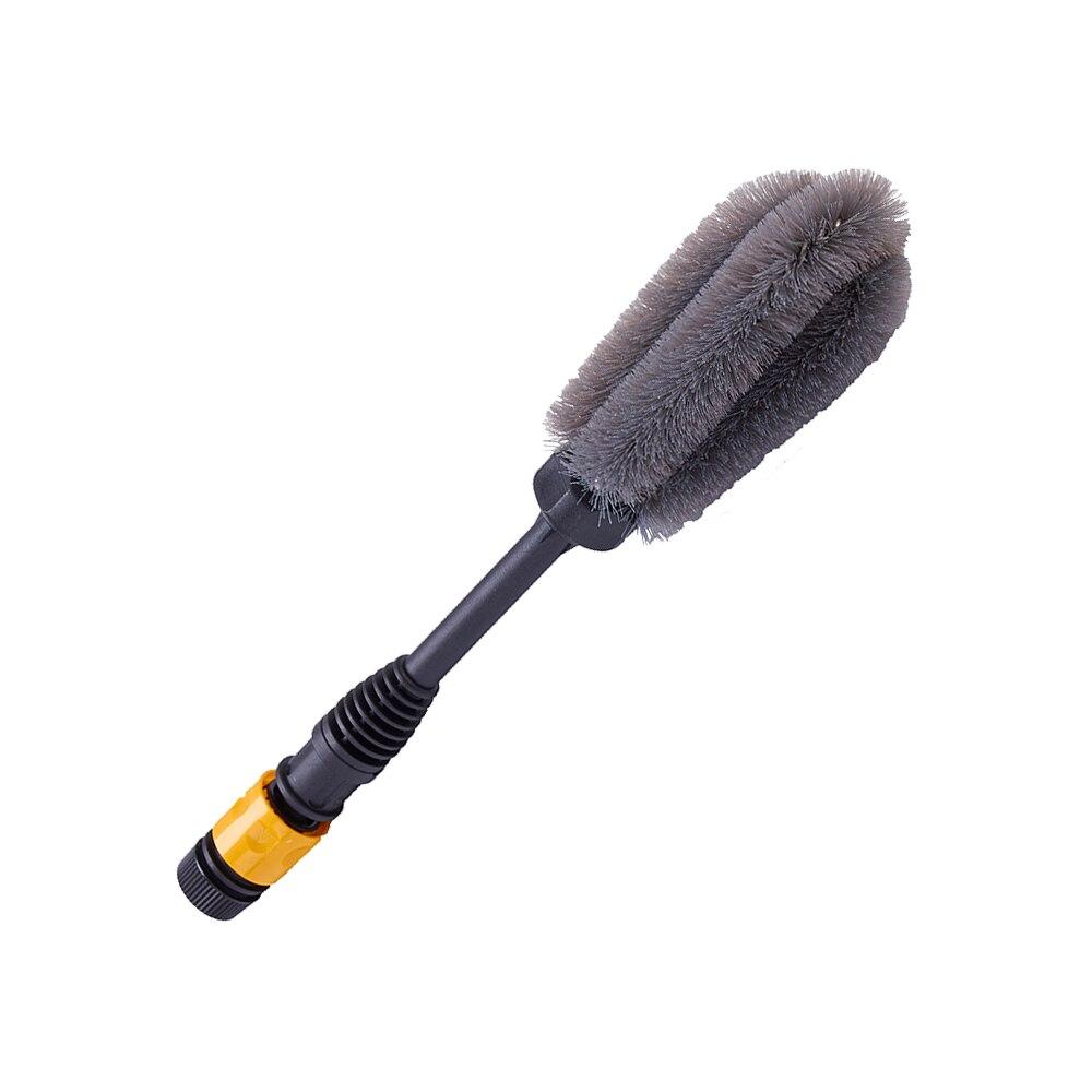 Soft Car Wheel Rims Wash Brush Detailing Water Flow Foam Brushes Multifunction Vehicle Care Cleaning Tool