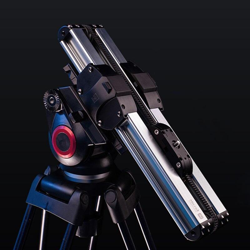 Micro 2 caméra curseur Mini Rail système de voie vidéo curseur pour Canon Sony Nikon Panasonic DSLR caméra Iphone téléphone intelligent ARRI MIN