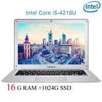 """מחברת מחשב נייד P7-12 16G RAM 1024G SSD i5 4210U 14"""" Untral-דק מחשב שולחני מחשב נייד מחברת Gaming (1)"""