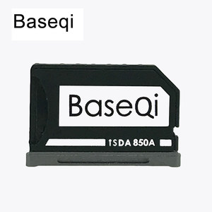 Image 1 - New Baseqi Ninja Stealth Drive Card adaptor Aluminum MiniDrive Micro SD Memory Card Adapter for Xiaomi Mi Notebook Dropshpping