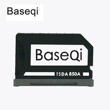 Nova Baseqi Ninja Furtivo Drive Alu niDrive num mi mi adaptador de Cartão Adaptador de Cartão de Memória SD para Xiao mi cro mi mi Notebook Dropshpping