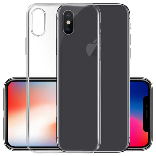 De silicona suave transparente Delgado móvil funda para iPhone x XS XR MAX caso para iPhone 5 5 5 6 6 7 8 plus
