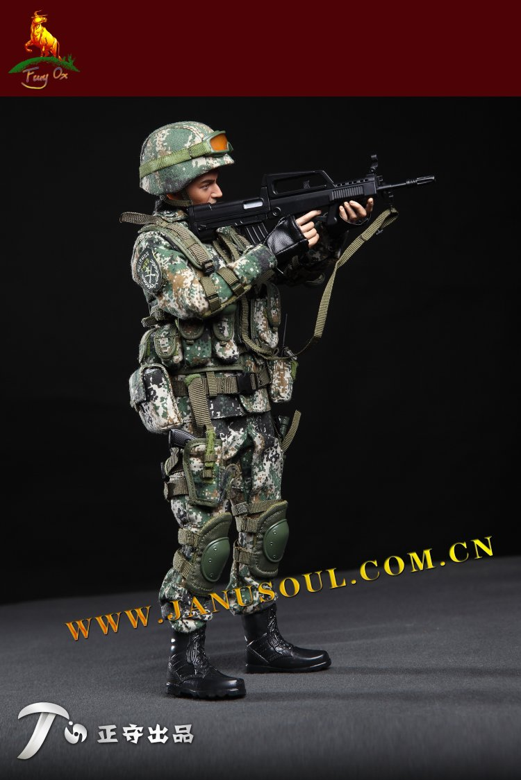 NEW Janusoul 1//6 action figure toys Chinese army special forces Battle Wolf