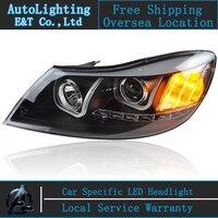 Car Styling LED Head Lamp For Skoda Octavia A5 Led Headlights 2010 2012 Drl H7 Hid