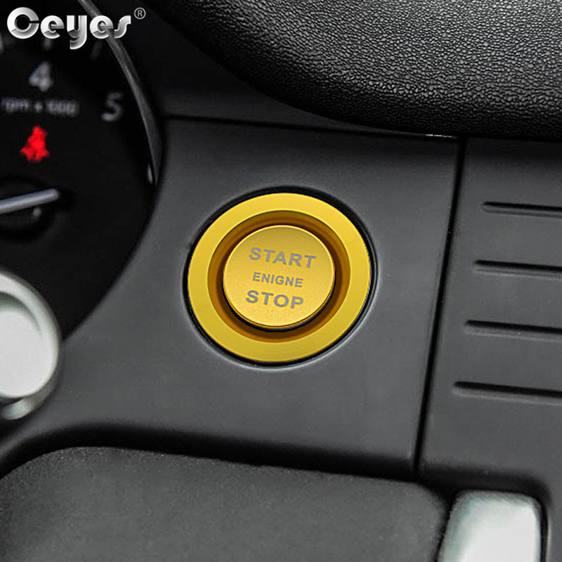 Car Start Engine Button Key Ring for LAND ROVER (3)
