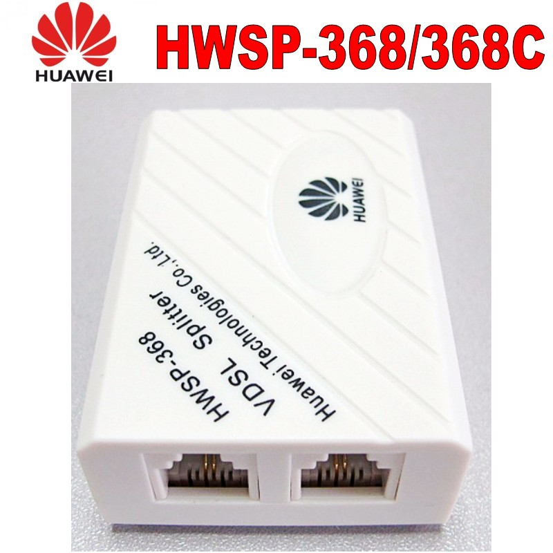 Original Huawei VDSL Splitter Broadband Telephone Filter Surge Lightning Protection Anti Noise 6P2C For ADSL Modem RJ11 Adapter