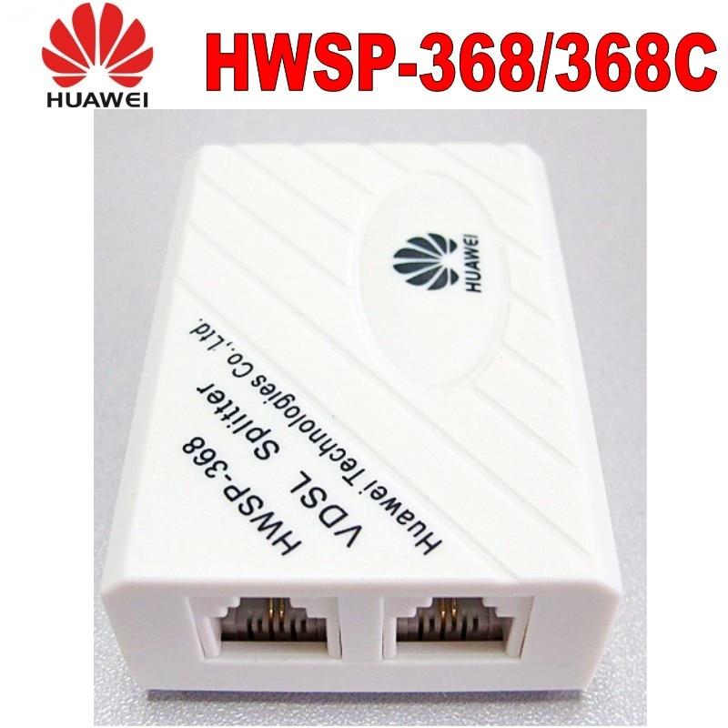 Original Huawei VDSL Splitter Broadband Telephone Filter Surge Lightning Protection Anti Noise 6P2C For ADSL Modem RJ11 Adapter