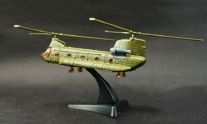 Boeing CH-47 Chinook 4D Helicopter Airplane Assembly Model Puzzle Building image