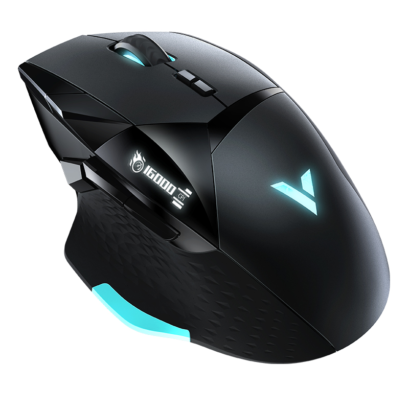 Rapoo 16000 DPI E-sports Gaming Mouse CF LOL Dota 2 Professional Grade PC Gamer Mouse 10 Programmable Keys IR Optical Game Mouse