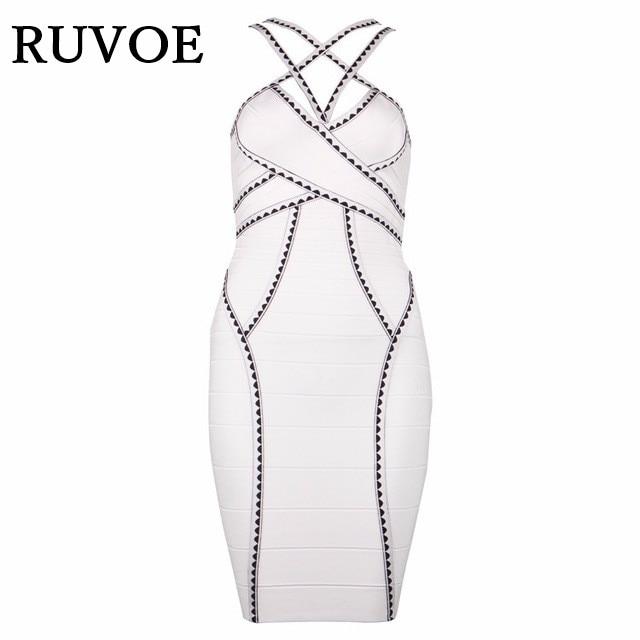 Bandage Lady Sy Halter Blanc Croix Parti Mini Jacquard Dress 28 De Femmes Rayonne Dos Strap Élégant Ouvert 2016 Double Nouveau Sexy ppqSxw1T