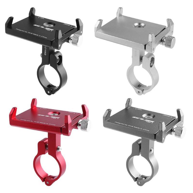 GUB PRO1 Universale Alluminio Del Manubrio Della Bicicletta Supporto Del Telefono Staffa di Montaggio