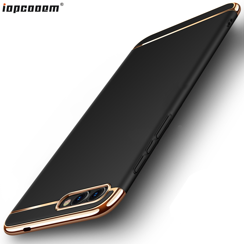 For Huawei Honor 10 Lite Case For Honor10 Nova2 back cover 3 in 1 luxury protective PC Back Cover For huawei Honor V10 coque image