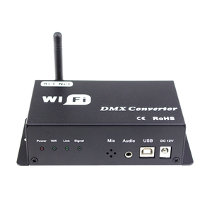 Image 4 - Led 12v wifi led controller dmx 512 controller converteren wifi signaal in dmx signaal door IOS of Android systeem controle led lampen