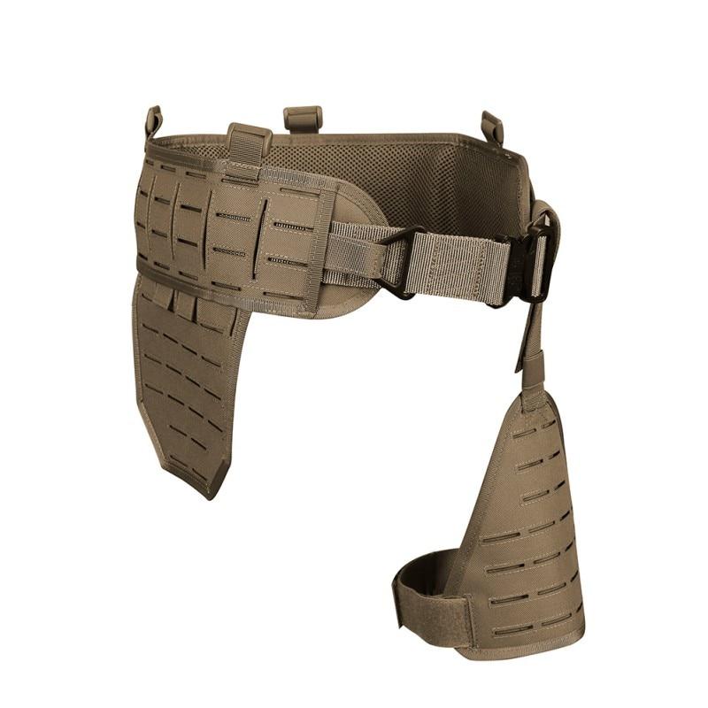 Outils d'extérieur Ultra-large 1000D Nylon élastique respirant rapide détacher ceinture abdominale étui porte accessoire de chasse - 3