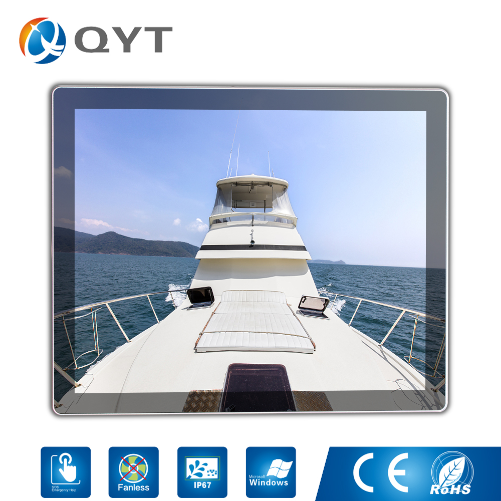 Full waterproof Fanless Rugged Tablet Mini 10/12/15 Inch Industrial Panel PC with 6200U 2.3GHz