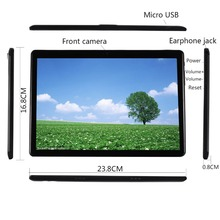 BMXC Más Nuevo de 10.1 pulgadas Androide 7.0 10 Tableta De La Base 4G LTE Dual Llamada Telefónica SIM 64 GB ROM 4 GB RAM WIFI bluetooth GPS Tablet PC 10