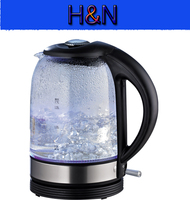 Factory Wholesale Electric Kettle Glass Boil Dry And Overheart Protection LED Ligt Electric Kettle For Home