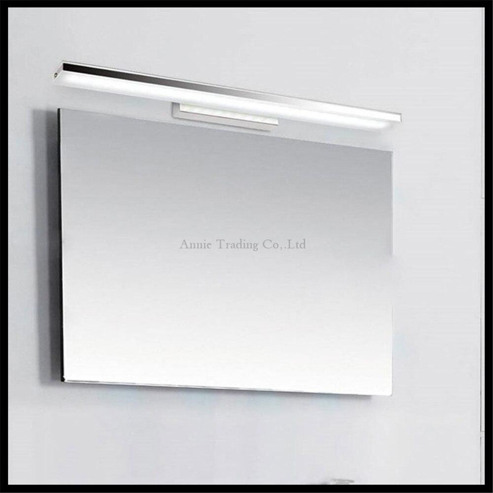 L406080100 cm moderne acryl led front spiegel licht 8