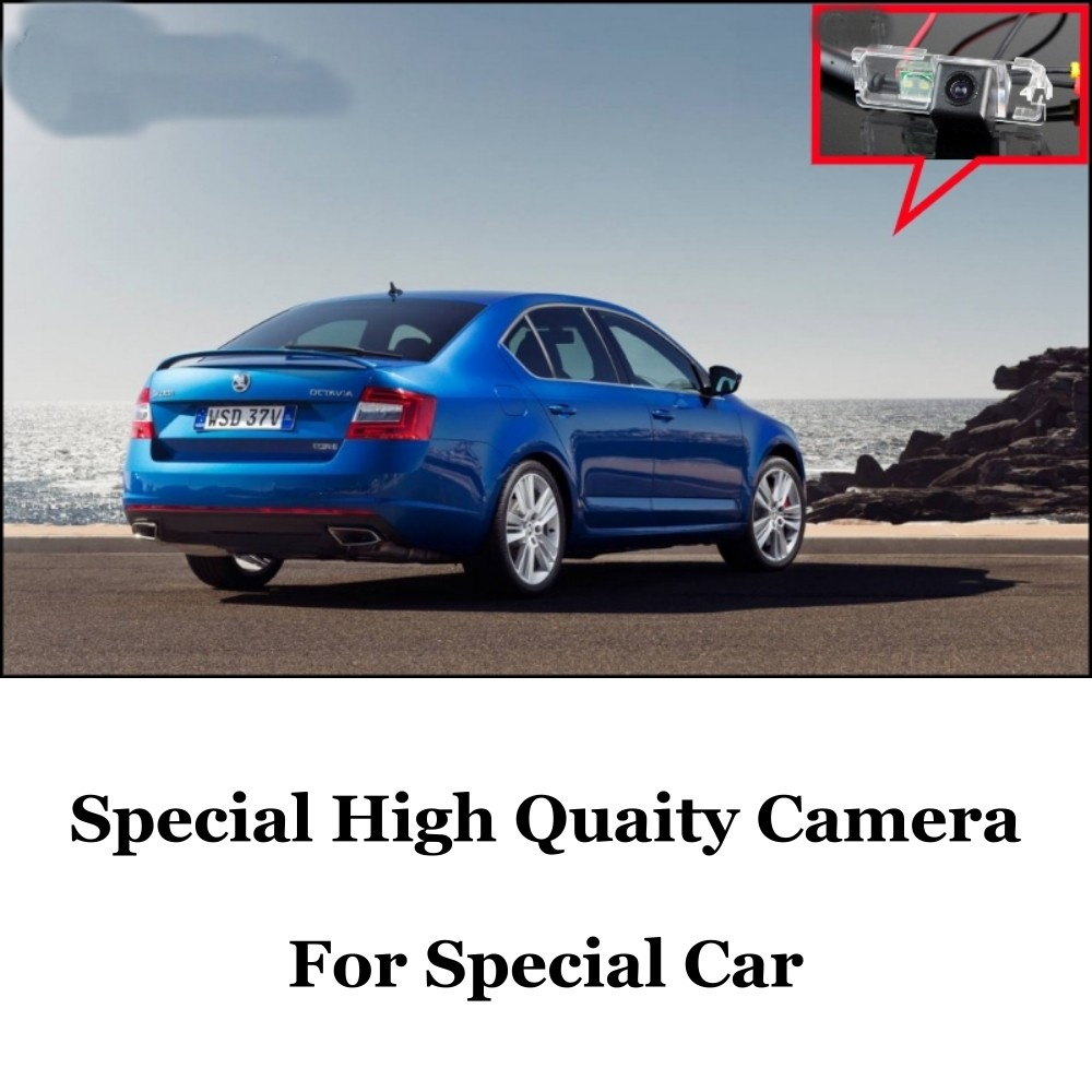 Car Camera For Skoda Octavia 5E MK3 High Quality Rear View Back Up Camera For Fans  CCD + RCA Car
