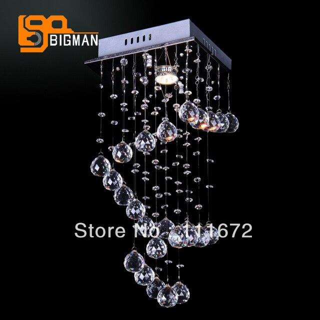 Prezzo speciale moderna piazza crystal light GU10 HA CONDOTTO LA ...