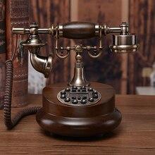 teléfono madera RETRO VINTAGE