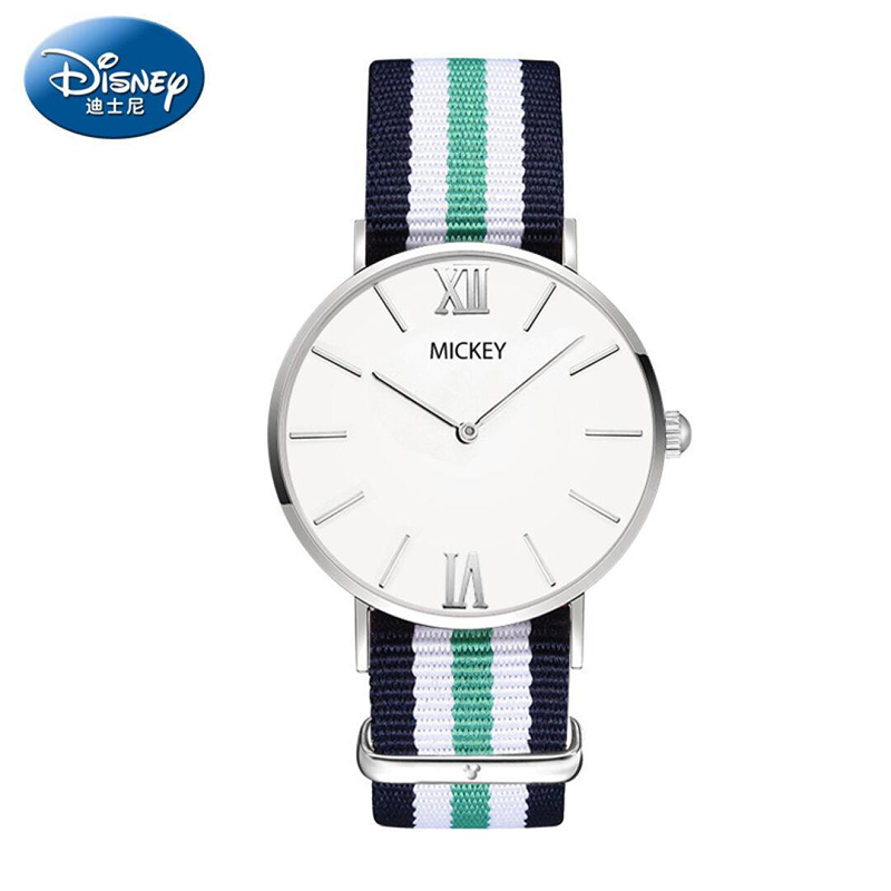 2017 Brand Disney Watches Men Women Fashion Casual Sport Clock Classical Nylon Male Quartz Wrist Watch Relogio Masculino Feminin  new top brand watches men women fashion casual sport clock classical nylon male quartz wrist watch relogio masculino feminino