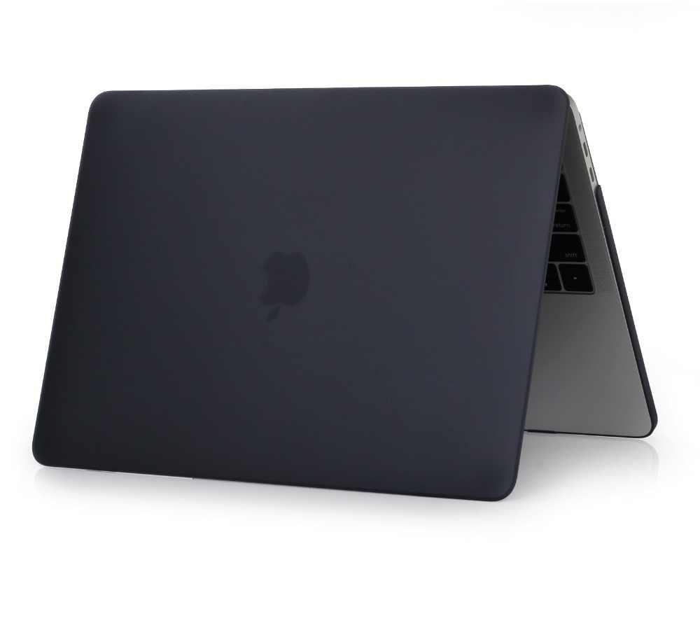 حافظة كريستال \ ماتي لاجهزة ابل ماك بوك اير برو ريتينا 11 12 13 15 انش حقيبة لابتوب ، لاجهزة ماك بوك اير برو 13.3 حافظة A1932 + هدية