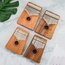 10/17 ключ палец калимба Mbira санза Thumb пианино карман размеры начинающих поддержки сумка клавиатура Marimba дерево музыкальный инструмент