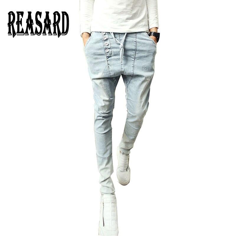 Pantalones De Lapiz De Estilo Coreano Para Hombre Jeans Modernos De Haren Ajustados Para Jovenes De Talla Grande 28 36 Mb101 Pantalones Vaqueros Aliexpress