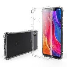 For Xiaomi Mix2S 8 se Lite 6X/A2 Pocophone F1 9 SE 6 5X/A1 Redmi NOTE 4 4X 6A 5A 5 5PRO 7 4A 3S/3X GO Soft TPU Phone Case Capa