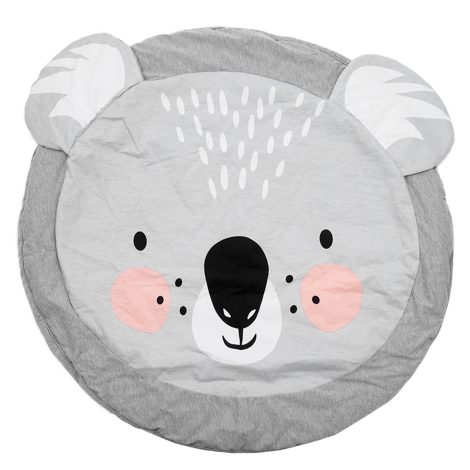 90CM Kids Play Game Mats Round Carpet Rugs Mat Cotton Crawling Blanket Floor Carpet For Kid Room Decoration INS Baby Gifts Koala