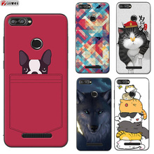 For Lenovo K320T Case Silicone Soft TPU Cover For Lenovo K320T Case Lenovok320t K320 T Cover Owl Print Coque Fundas Capas 5.7""