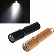 Mini LED Flashlight 90 Lumens Rechargeable Electric Torch Incandescent Lamp