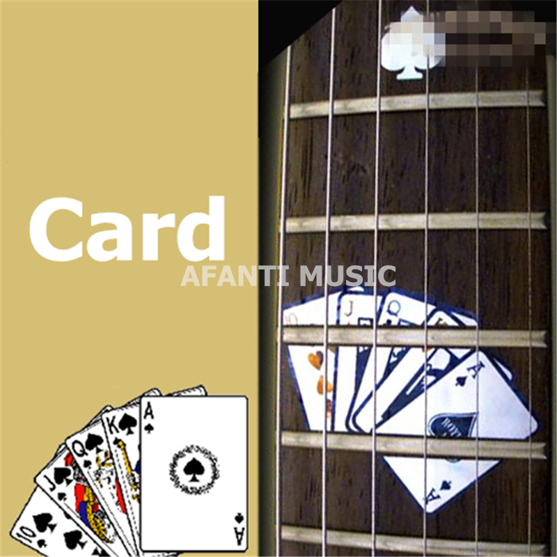 Afanti music Guitar Finger Board sticker / Shell sticker / Card Inlay (FPD-124) yibuy 2pcs inlay colorful guitar head veneer shell sheet new