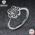 Floral Daisy Lace 925-Sterling-Silver Vintage Wedding Band Engagement Ring Compatible with Sterling Silver Jewelry
