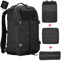 NITECORE BP25 Outdoor Multi purpose Backpack 25L Wear proof 1000D Nylon Tools Bag 4 Side MOLLE System for Modules Gear Equipment