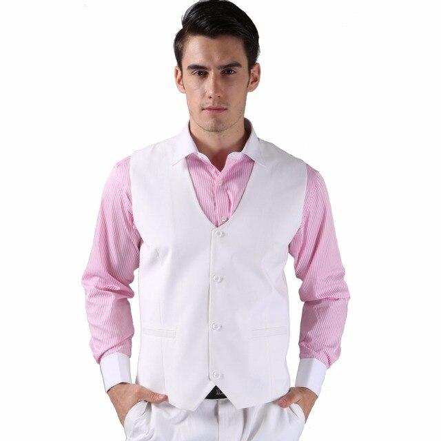 Men Suit Vest 2015 High Quality Casual Wedding Formal Business Party Fashion 10 colors  Suit Vest M0164