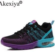 Akexiya Women's Sneakers Breathable Air Cushioning Women Running Shoes Breathabl