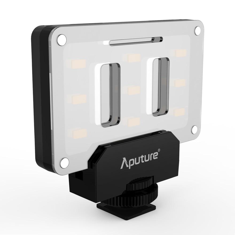 ФОТО Aputure Amaran AL-M9 Lighting Up Pocket Sized LED CRI/TLCI 95+ 9 SMD bulbs 9 Steps Dimming 5500K for Sony Canon Nikon Camera etc