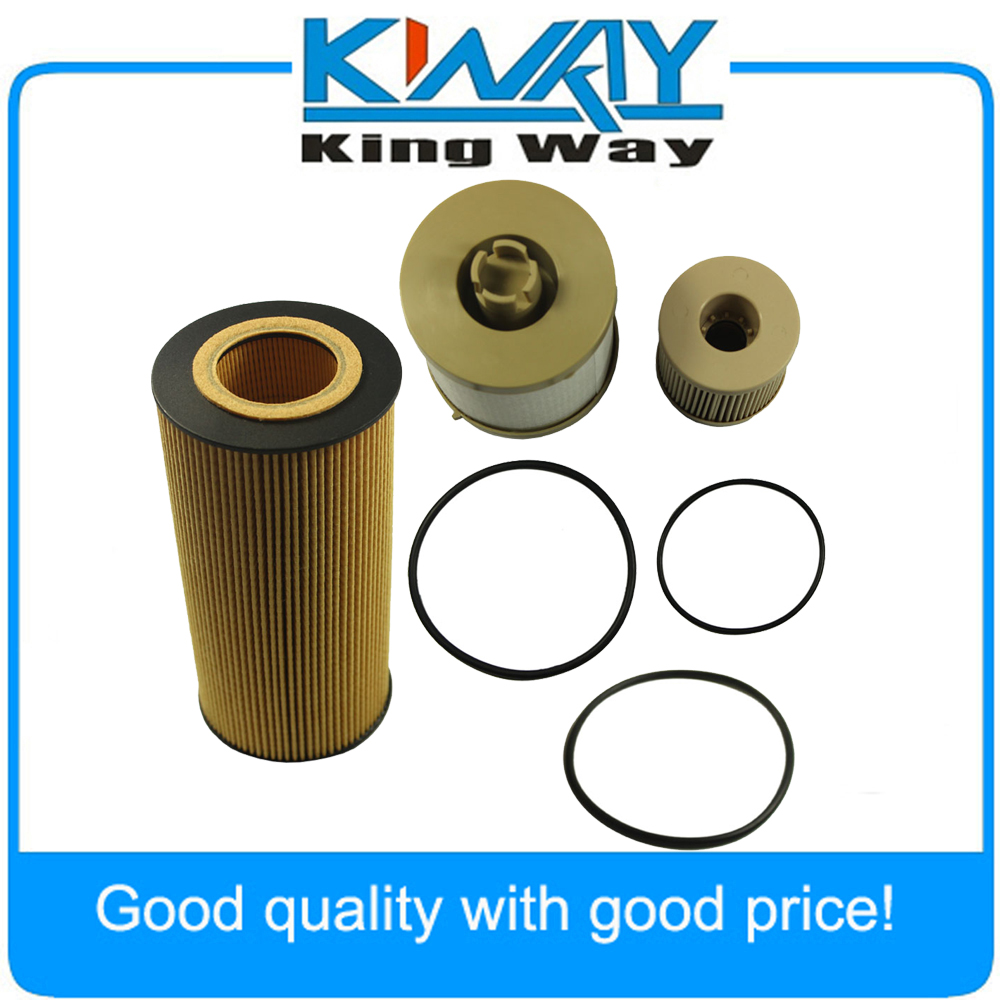 Diesel Oil Filter Fuel Fits For Ford Powerstroke 2003 2007 6 0 Filters 60l Fl2016 Fd4604 In From Automobiles Motorcycles On