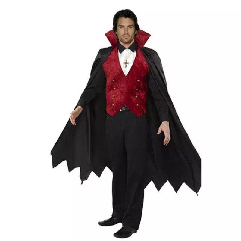 parca chaleco conjunto manto gothic demon terror vampire diablo cosplay femenina uniformes disfraces de halloween