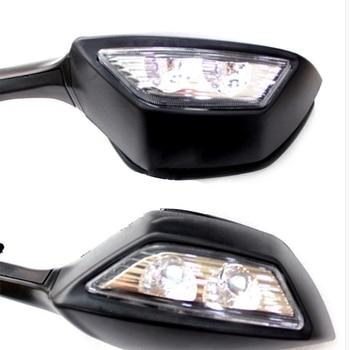 Vista Posteriore Del Motociclo Riflettore A Specchio Vista Laterale Specchio Per Kawasaki Ninja 1000 Zx-10R 11-15