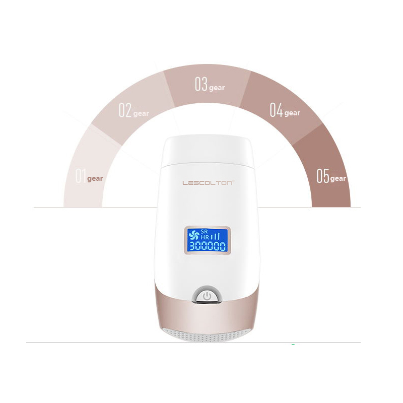 LCD Remoção DO Cabelo DO IPL Dispositivo de Remoção Permanente Do Cabelo Removedor de Pêlos Faciais Depilador A Laser Para As Mulheres Homem Pernas Axila Biquíni Barba - 3