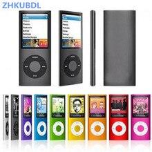 ZHKUBDL 1.8 calowy odtwarzacz mp3 16GB 32GB odtwarzanie muzyki z radiem fm odtwarzacz wideo E book odtwarzacz MP3 z wbudowaną pamięcią