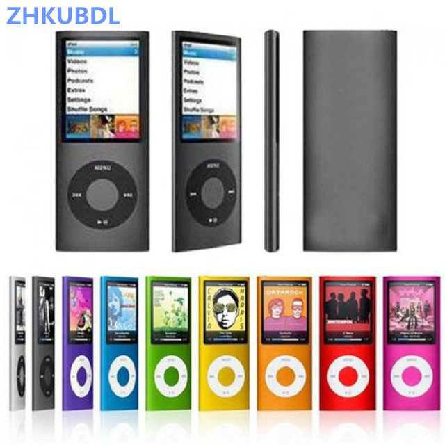 ZHKUBDL 1.8 inch mp3 player 16GB 32GB Music playing with fm radio video player E-book player MP3 with built-in memory